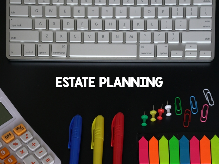 estate planning markers paperclips and pushpins